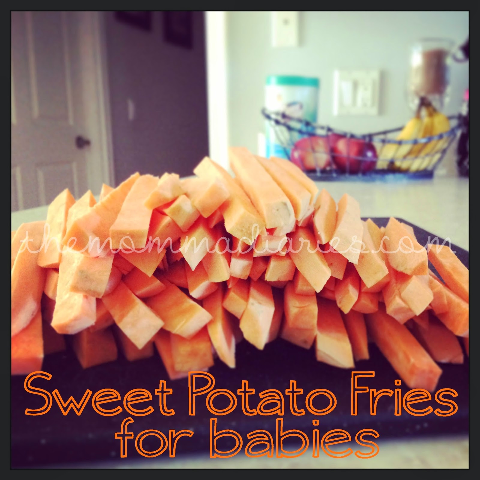 sweet potato fries for babies baby led weaning recipe