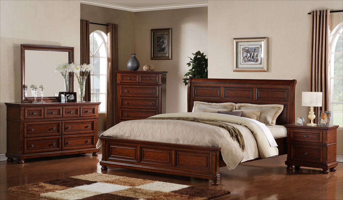 Breathtaking Rustic Bedroom Furniture Sets with Warm Impression