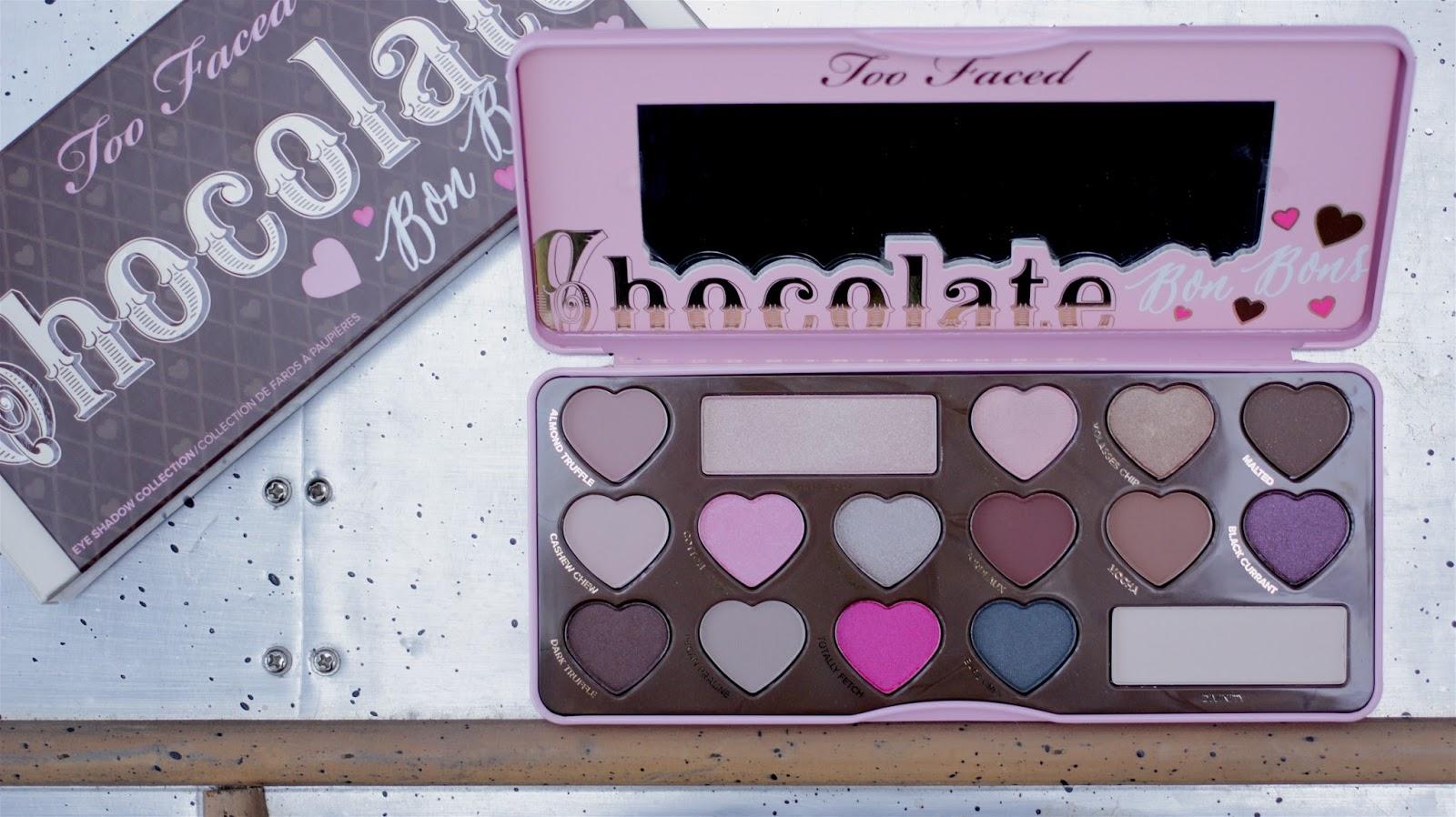 Too Faced The Chocolate Bar Eye Palette Sneak Peek