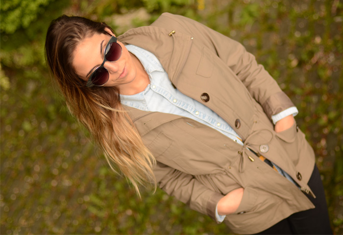 rain, sunglasses, zara, h&m, jeans, trench, alison liaudat, bangbangblond, fashion blog, swiss