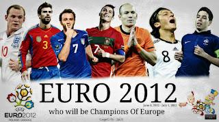 Clasificados Cuartos de Final de la Eurocopa 2012