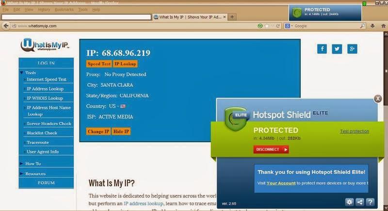 Cara menggunakan Hotspot Shield ELITE