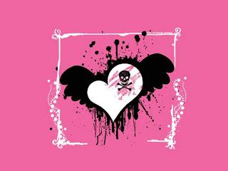 EMO True Love Dark Gothic Wallpaper