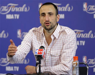 Manu Ginobili press conference