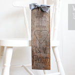 Wooden Door Hanger DIY