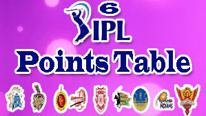 IPL 6 Points Table