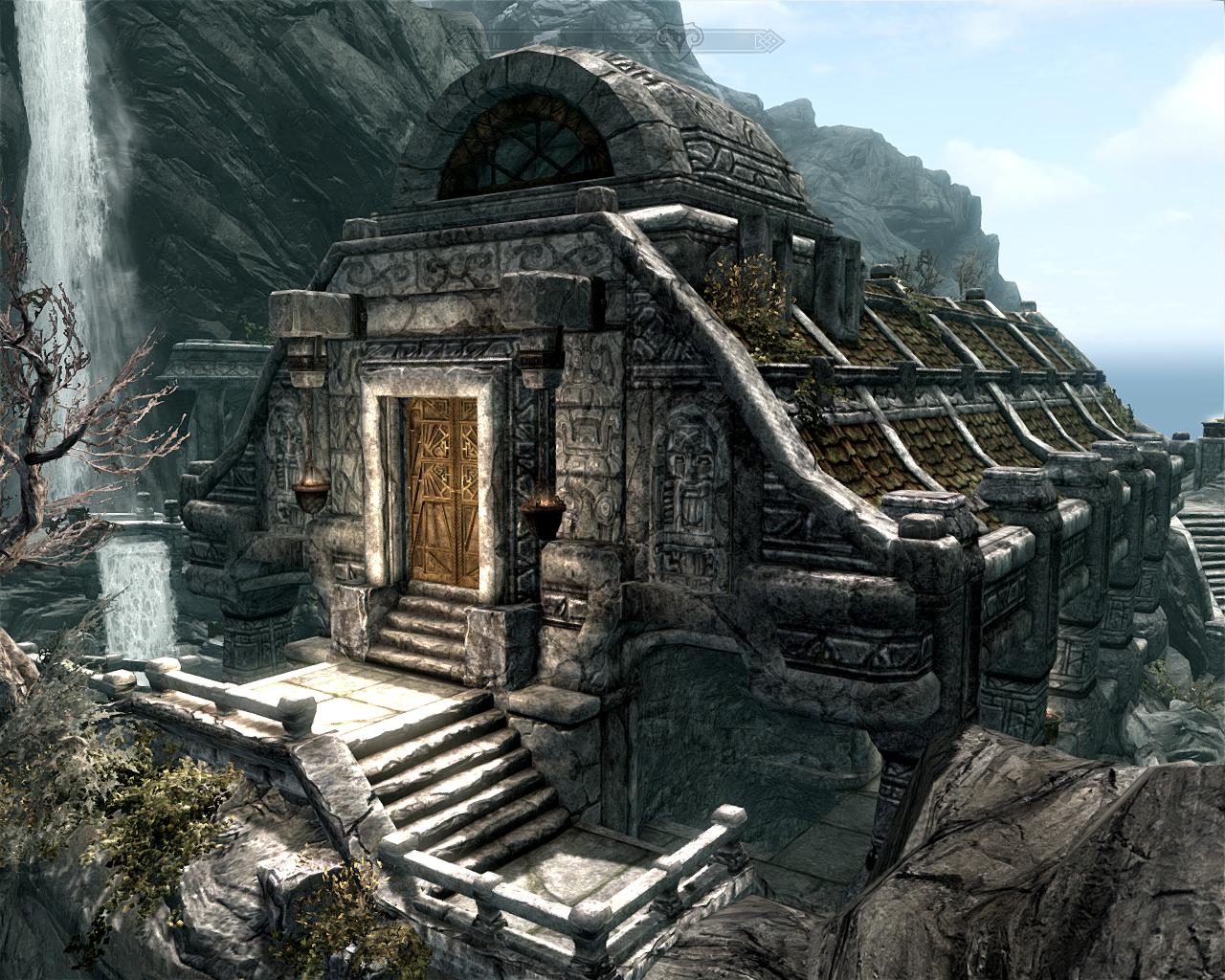 The art of architecture skyrim architecture markarth for Best house designs skyrim
