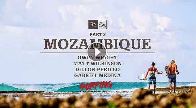 Rip Curl - Surfing is Everything - Part 2 Mozambique