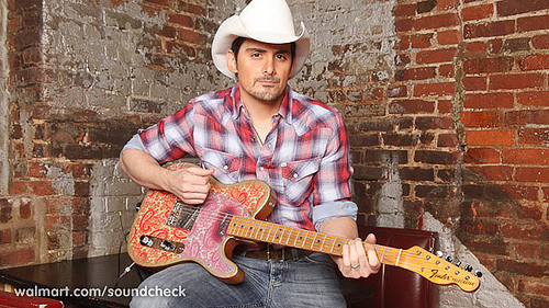 brad paisley this is country music. Brad performed an exclusive