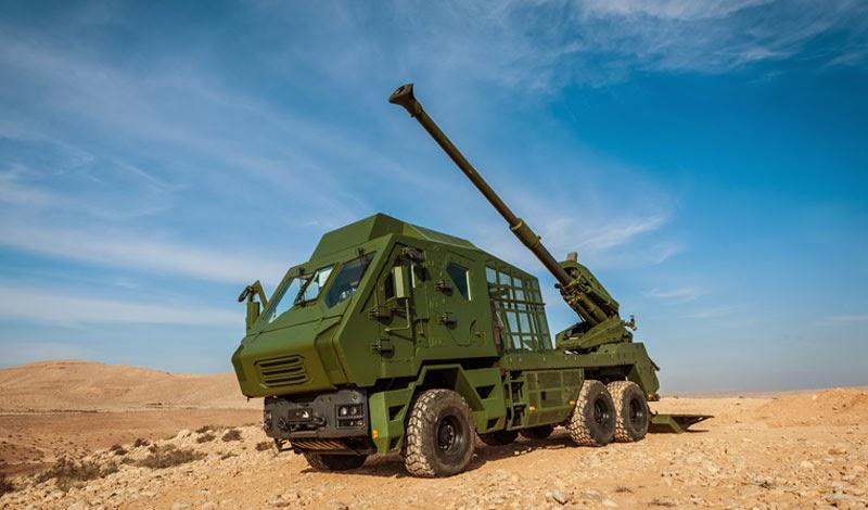 Vídeo: Nova variante do obuseiro ATMOS 155mm/52 da Elbit Systems