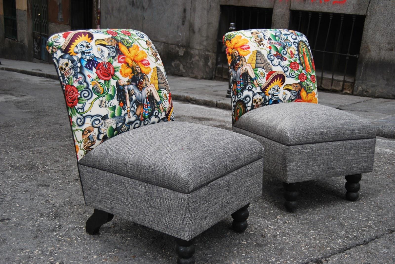 La tapicera descalzadoras mex - Telas de tapizado ...