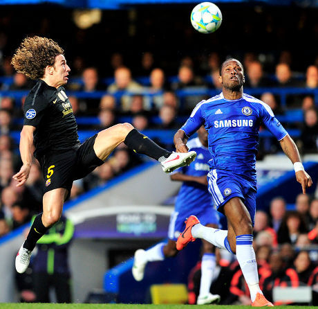 Chelsea vs Barcelona 1-0 Semi Final Leg Pertama Final Liga Champion 2012