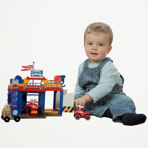 德國 BIG BOBBY-CAR 積木遊戲組 / 維修站