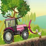 เกมส์รถแทรกเตอร์ไร่ผลไม้