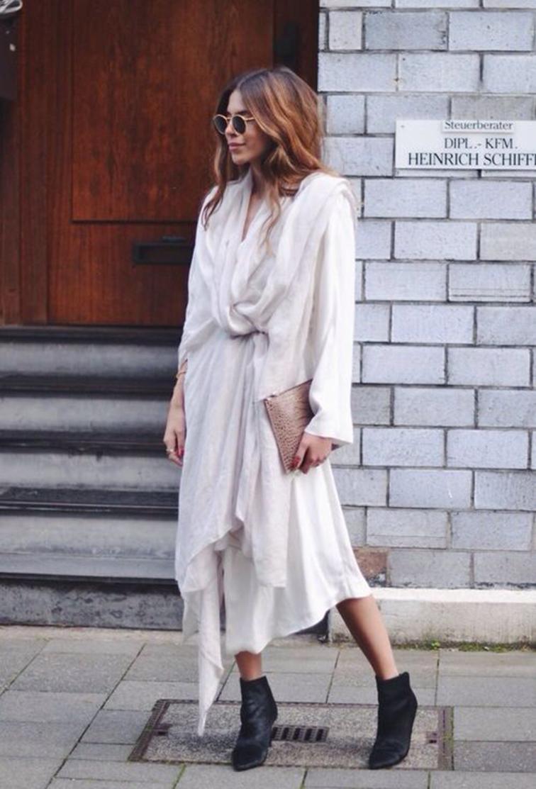 Maya Myh, style, blogger, oversized dress
