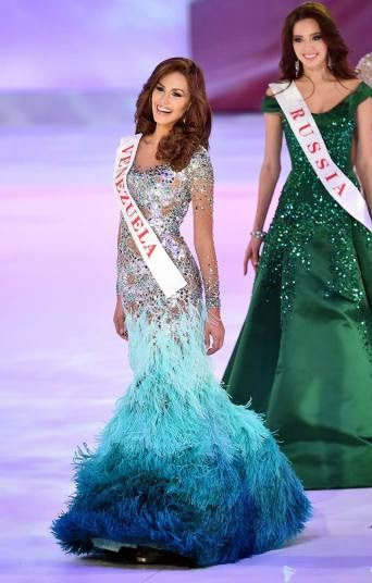 SASHES AND TIARAS.....Miss World 2014 Finals, Winner and Gown Recap ...