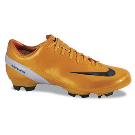 nike football boots mercurial talaria 4 fg orange