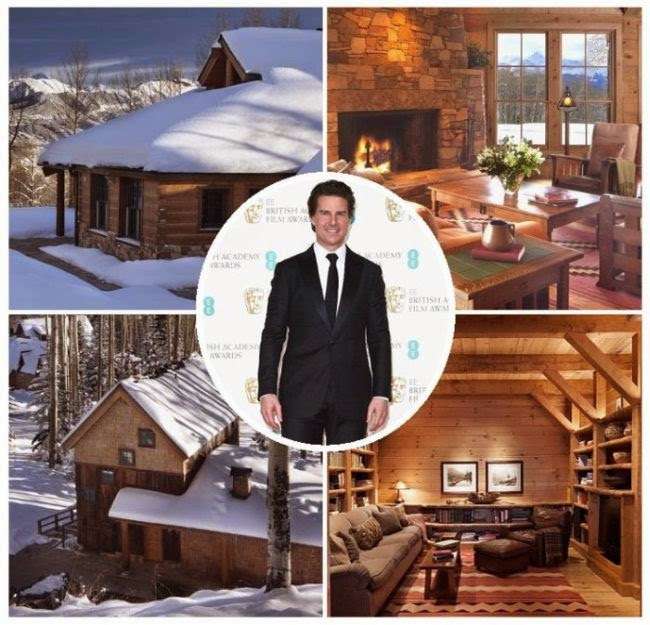 Sweet dreams! Images from the inside Tom Cruise's residence reveal the unique and spacious grade for never ending classical moment.  As the Dailymail.co.uk report: The actor is maintaining his House at Telluride, Colorado into the market for $ 59 Million.
