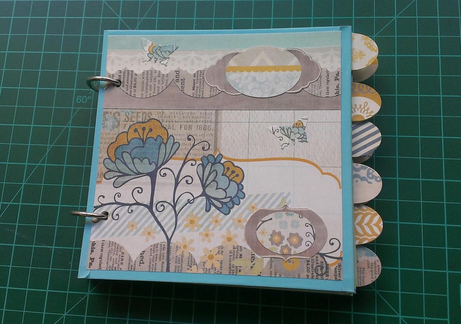 Sonrisas de papel lbumes diy dise o decoraci n - Decoracion de album de fotos ...