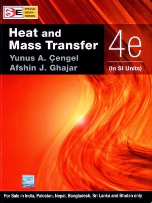 Heat and Mass Transfer by Cengel and Boles pdf Free download