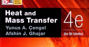 CENGEL HEAT AND MASS TRANSFER 4TH PDF DOWNLOAD