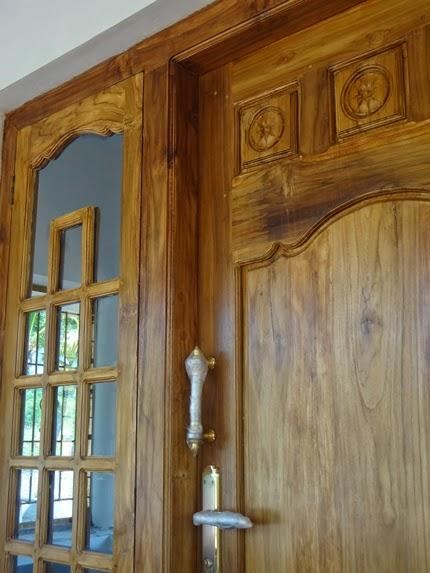 Latest style Kerala wooden Model Door Design wooden