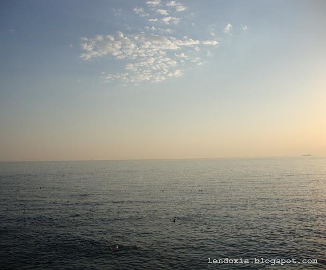 horizont na moru