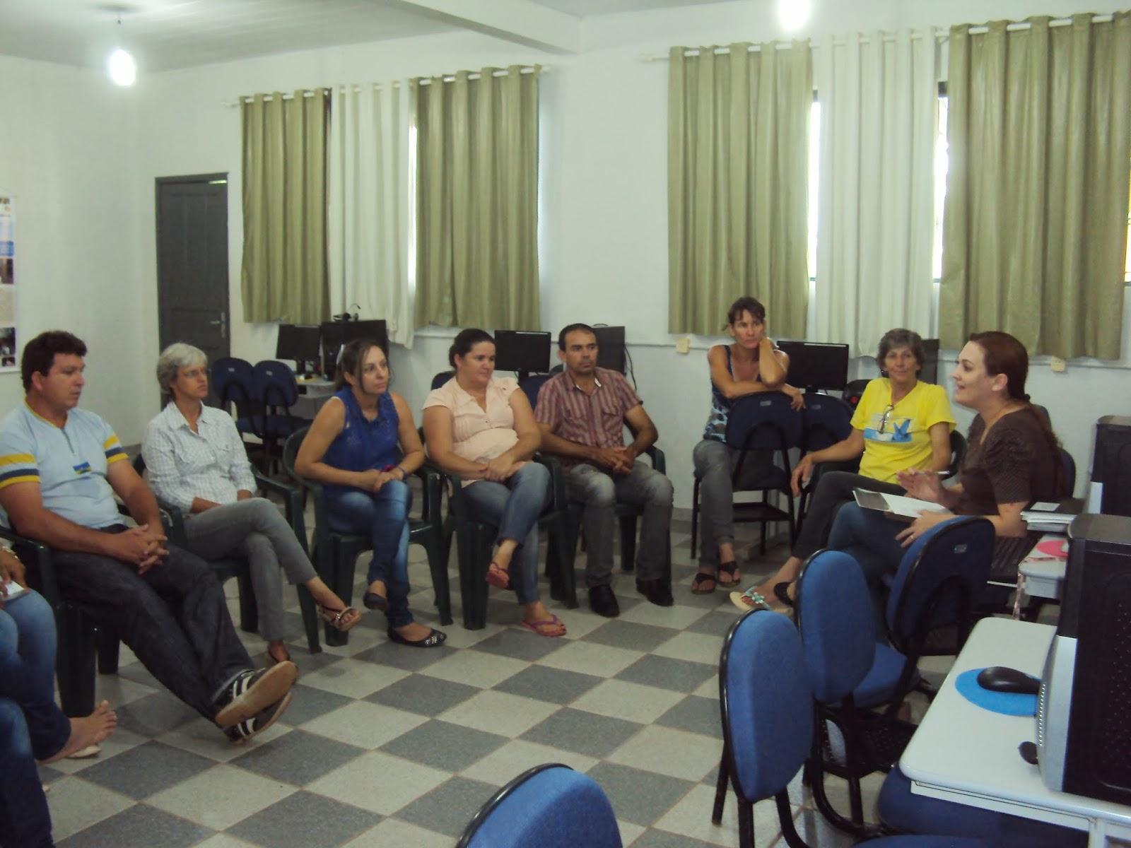 Reunião de planejamento escolar 2015