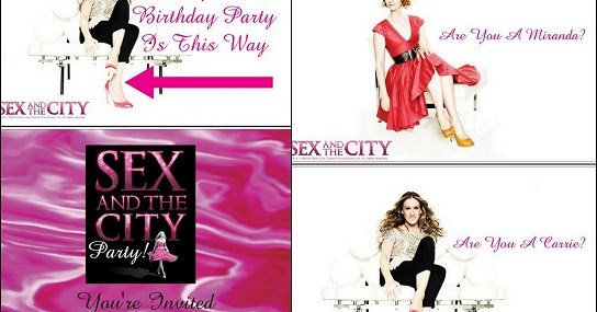 Sex And The City Card 107