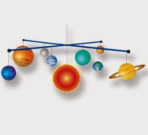 familia: Manualidades: ¡estudiamos los planetas y el sistema solar