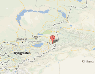 Kazakhstan_Almaty_earthquake_2013_epicenter_map