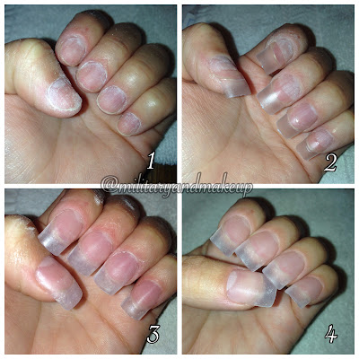 "Acrylic nails ""dipping"" method"