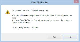 DSS error only one frame