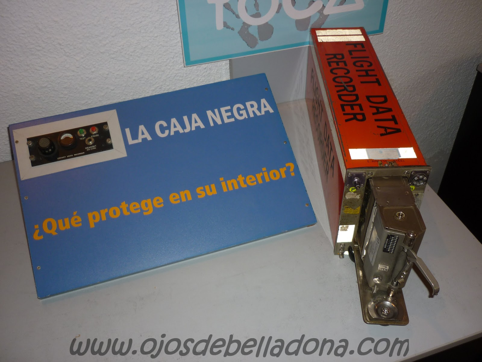Caja negra Museo de la Aviación Málaga