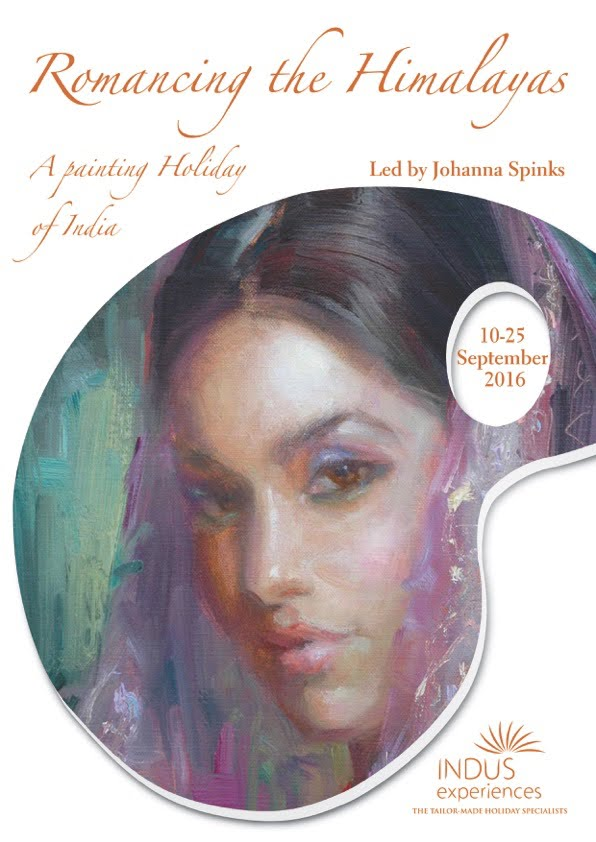 Exciting 2016 Painting Holiday in India. Click image for link