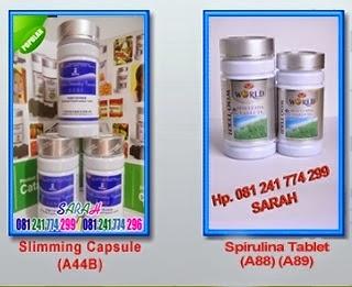 obat pelangsing biolo dan spirulina