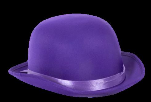 Chapéu roxo png