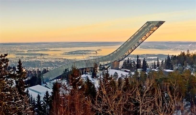 Holmenkollen ved Oslo, Norge