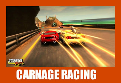 carnage racing jogo de corrida pelo facebook