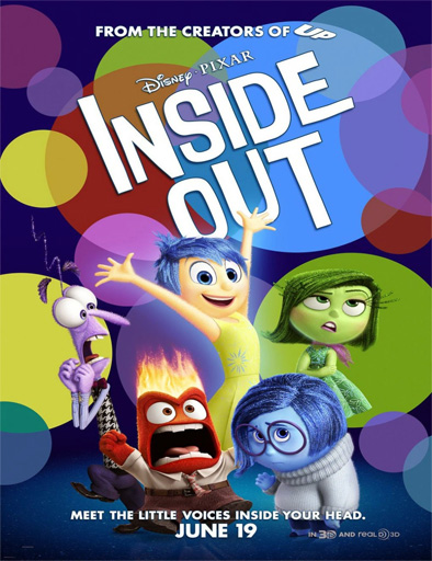 Ver Intensa Mente (Inside Out) (2015) Online