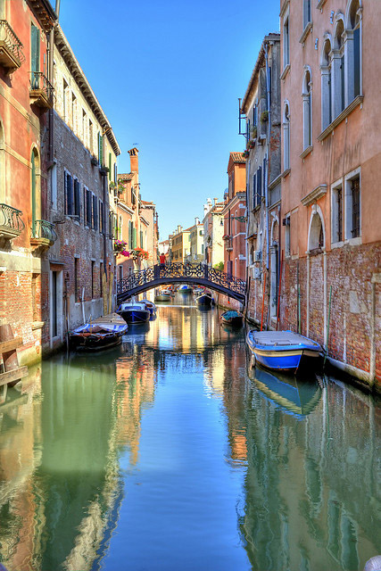 Bridge in Venice, Italy