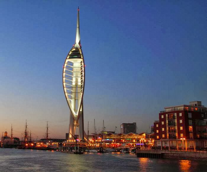 spinnaker tower facts