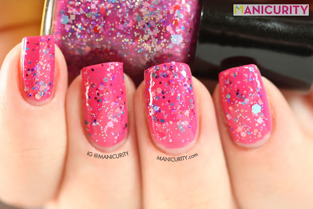 Manicurity | Polish Addict Nail Color = Beach Bunny