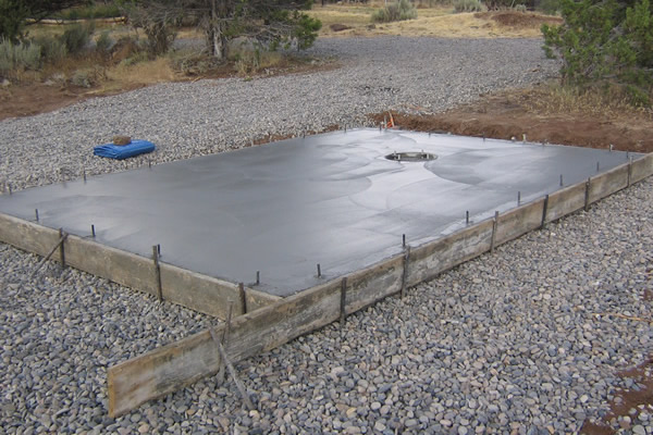 Pre Made Concrete Pads : The evansville home expert forming small concrete pads