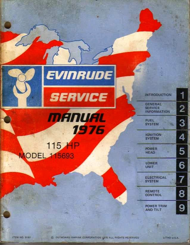 EVINRUDE YACHTWIN 4 HP MANUAL