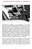 EL PARTIDO COMUNISTA FRENTE A LA REPRESIÓN