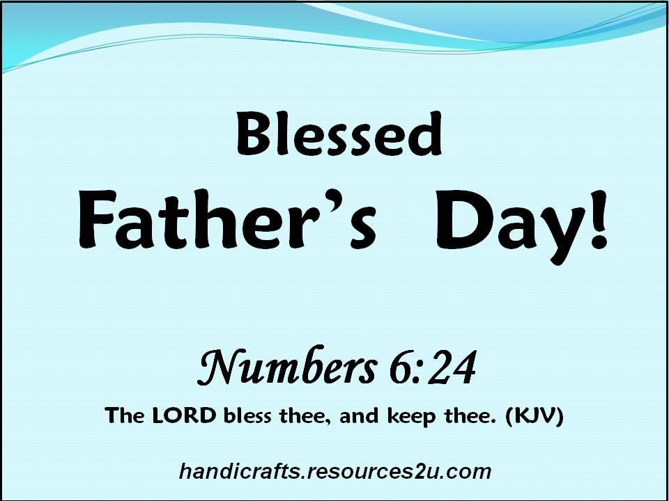 fathers day bible verses kjv