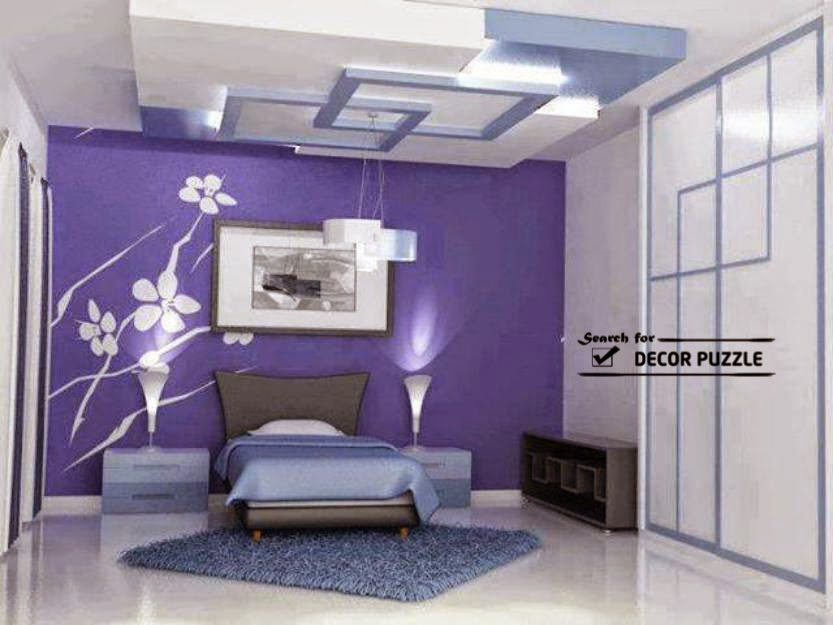 Top catalog of gypsum board false ceiling designs 2018 for P o p bedroom designs