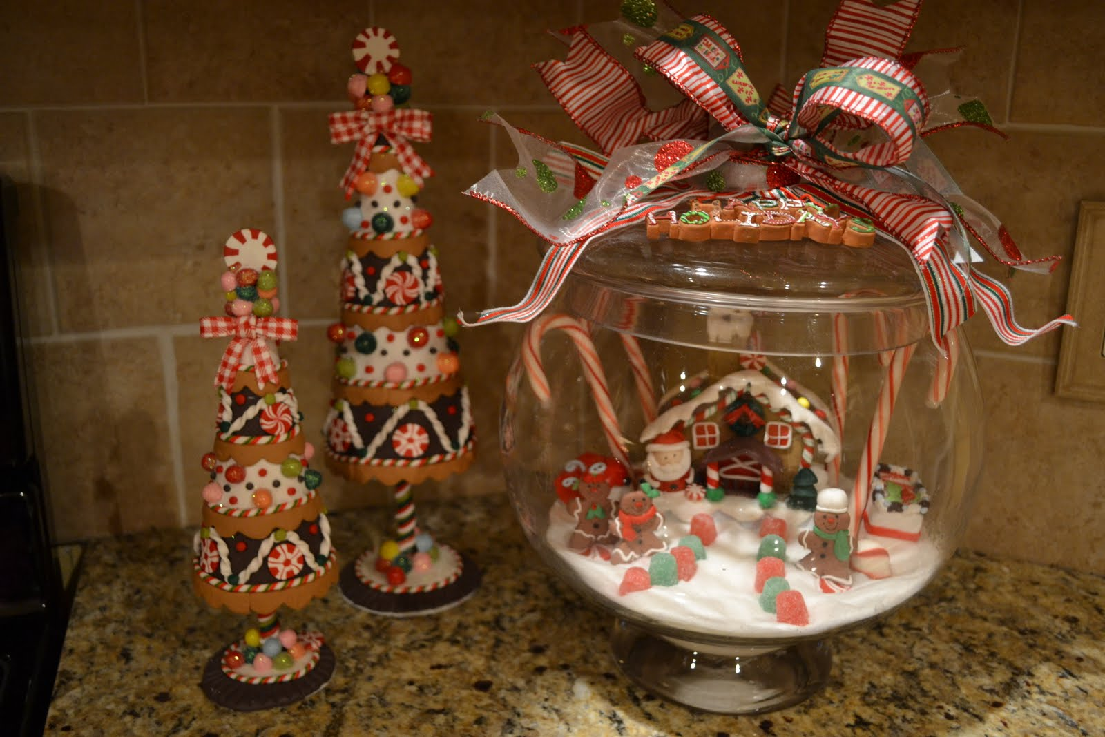 Gingerbread Decorations, Etsy Store Items and an Upcoming Giveaway!