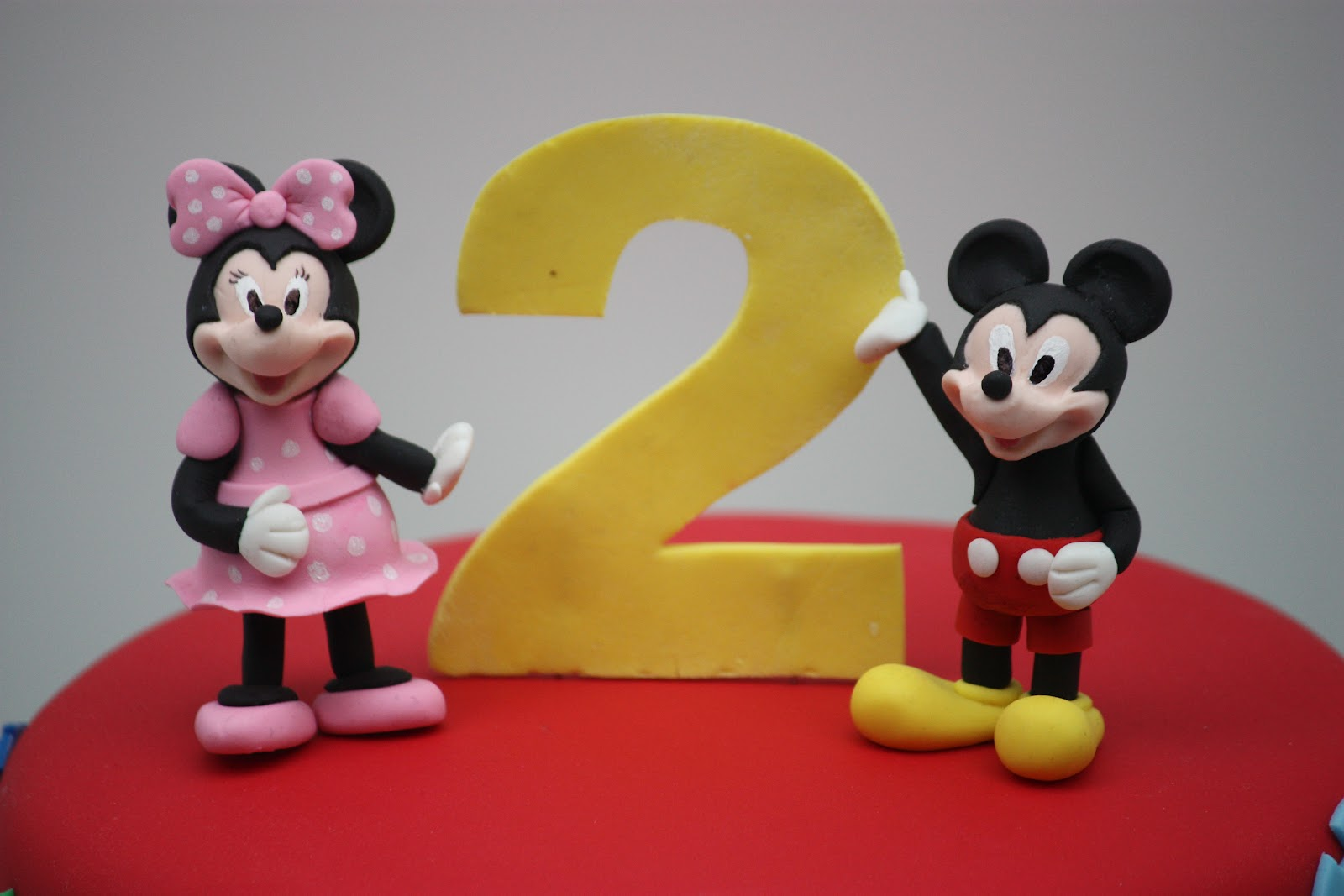 Whimsical By Design Mickey Mouse Clubhouse Cake